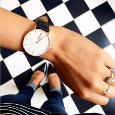Keep everything classic. #danielwellington