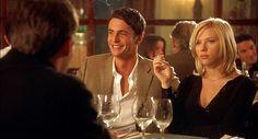 Matthew Goode, Scarlett Johansson, Match point (empty glass yet)