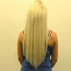 Haarverlängerung nacher: 120 Strähnen Microring Extensions platinblond - Ayana hair & more Extensions, Long Hair Styles, Beauty, Long Hairstyle, Long Haircuts, Long Hair Cuts, Beauty Illustration, Hair Extensions, Long Hairstyles