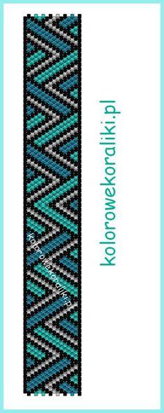 free bead tutorial - kolorowekoraliki.pl                                                                                                                                                                                 More