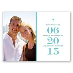 Stand Out Photo - Clover - Save the Date Postcard