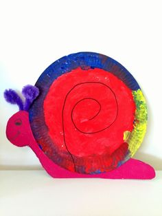 Out of many ideas, the snail paper plate craft is probably one of the easiest ideas the kids an make. Of course, the paper plate itself is round and it is just similar to the snail in nature. Paper Plate Art, Paper Plate Crafts, Paper Plates, Paper Crafting, Projects For Kids, Crafts For Kids, Arts And Crafts, Diy Projects, Snail Craft