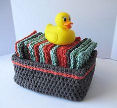 Ravelry: Little Washies pattern by Brenda K. B. Anderson