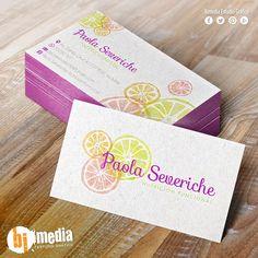 Diseño de Marca y Tarjeta Personal Paola Severiche Nutrición Funcional. #Marca…