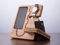 Teds Wood Working - The Wood Docking Station Doubles as a Desk Organizer - Get A Lifetime Of Project Ideas & Inspiration!