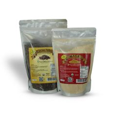 SUPER SPECIAL COMBO - Maca Powder and Cacao Nibs - Peruvian Raw Organic Vegan - Premium Maca Root Powder - Criollo Cocoa Nibs from Beans 16 oz/1 lb - Maca Benefits: Energy, Sexual Stamina, Libido, Fertility, Hormonal Balance - Cacao: Highest Antioxidant Superfood. Heart Health. Pure Natural Miracles,http://www.amazon.com/dp/B00FW4AFF4/ref=cm_sw_r_pi_dp_0ki3sb1TAB3N64D4