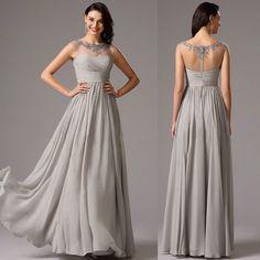 Rochii de ocazie de seara gri voal dantela Bridesmaid Dresses, Wedding Dresses, Nasa, Fashion, Clothes Women, Bridesmade Dresses, Bride Dresses, Moda, Bridal Gowns