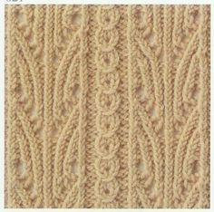 Lace Knitting Stitch #26
