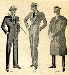 French menswear, 1930