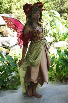 Autumn Season Fairy » Firefly Path