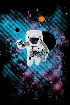 astronaut trippy weed wallpaper - photo #40