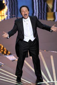Dream award show host Billy Crystal Academy Award Winners, Oscar Winners, Academy Awards, Best Actress, Best Actor, Slapstick Humor, Oscars 2012, Funny One Liners, Billy Crystal