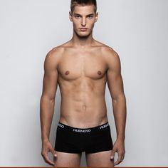 Stretch Cotton Trunk Black now featured on Fab.