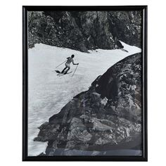 PORTRAITS NUDE SKIER ART_Wall Art_Products_Timeless Deco ∣ Original, Classic & Authentic Deoration Brand