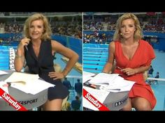 BBC presenter Helen Skelton shocks viewers again by her mini skirt 'with...