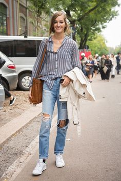 Josephine Le Tutour #MFW SS15 #streetstyle #model