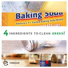 Make your own natural cleaners with only 4 ingredients!