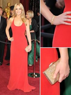 simple red dress and stunning jennifer lawrence