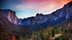 HDR Wallpaper Yosemite Park for Mac OS X 10.10  download more at goodwallpaperdesktop.com