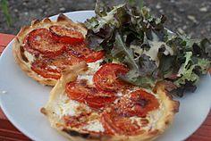 A tester !! tarte fine tomate ricotta on http://www.epicesetmoi.be