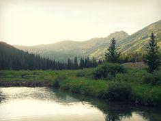 Grose Ventre Trail, Teton Mountains.  Jackson, Wyoming