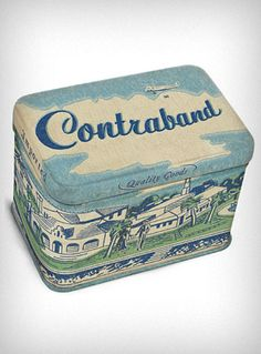 Contraband Mini Treasure Tin   PLASTICLAND