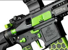 Zombie Green receiver from San Tan Tactical.