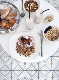 Pancake breakfast & Tiles, Amilla Fushi, Maldives: http://www.ohhcouture.com/2016/06/monday-update-22/ #ohhcouture #leoniehanne