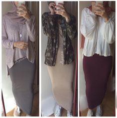 Pinterest: @adarkurdish Modern Hijab Fashion, Islamic Fashion, Abaya Fashion, Muslim Fashion, Modest Fashion, Fashion Outfits, Casual Hijab Outfit, Hijab Dress, Modest Outfits