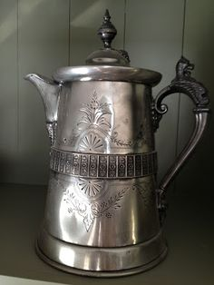 Antique Victorian Coffee Pot
