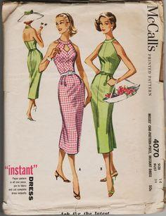 1950s McCall's 4070