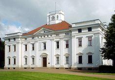 English: Palace Georgium in Dessau in Saxony-Anhalt, Germany  Deutsch: Schloss Georgium (Anhaltinische Gemäldegalerie) in Dessau in Sachsen-Anhalt, Deutschland