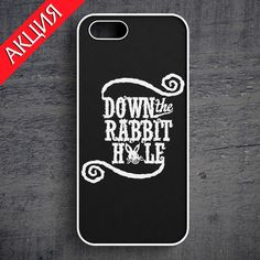 """Down The Rabbit Hole"" Case for iPhone 4/4S, 5/5S, 6. Worldwide shipping. Store's url http://vk.com/market-71763847"