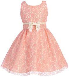 Big Girls' Precious Lace Overlay Gown with Vintage Bow coiv size 8 iGirldress http://www.amazon.com/dp/B00X6FFFH4/ref=cm_sw_r_pi_dp_C.zTvb1PF2AB3