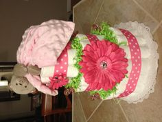 I think I'm going to make this for my next diaper cake order