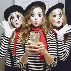 MIME HALLOWEEN COSTUME #halloweencostumekids