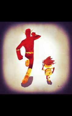 Vamers - Atristry - Marvel and DC Superheroes Walk Their Children to School - Art by Andry Rajoelina - DC - The Flash Dc Comics Heroes, Dc Comics Characters, Illustration Mignonne, Cute Illustration, Batgirl, Nightwing, Star Treck, Superhero Family, Comic Art