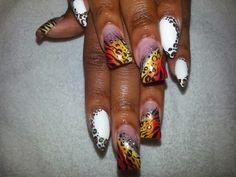 , Airbrush Nails, Nail Art, Beauty, Nail Arts, Beauty Illustration, Nail Art Designs