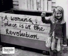The revolution #feelthebern #bernieorbust #bernthemedia