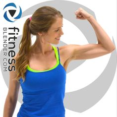 Workout Video Spotlight: 30 Minutes, no equipment, difficulty 3/5, 206-354 calories burned, 100% free @ http://www.fitnessblender.com/videos/fun-fat-burning-cardio-workout-at-home-to-boost-endurance-and-get-fit-fast