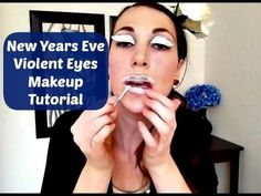 ▶ New Years Eve Violent Eyes Makeup Tutorial - YouTube