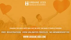 Urbanejodi is one of the largest online Indian Matrimonial Site. Browse by caste, religion, country, language, education, occupation, etc. To know more visit http://www.urbanejodi.com