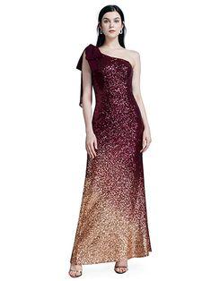 b9d41b616d0e Ever-Pretty Women Sparkling Gradual Champagne Gold Sequin Mermaid Cap  Sleeves Evening Dress Prom Dress