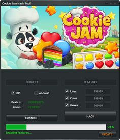Cookie Jam Hack