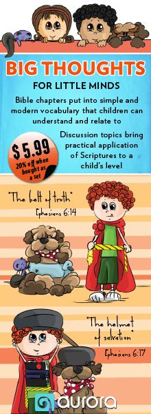 Big Thoughts for Little Minds #children'sBible