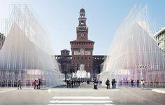 The World's Fair - Milan. Expo Gate breve Expo 2015, Baranzate MI, Italy