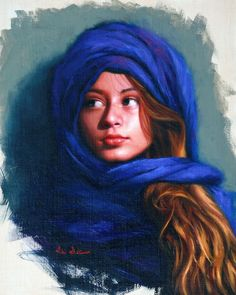 Sherazade a portrait of my neice Goldie oil on linen . Mantle Art, Modern Portraits, Realism Art, Modern Artists, Australian Artists, City Art, Silk Painting, Islamic Art, Drawings