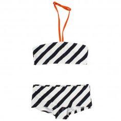 cute stripe bikini