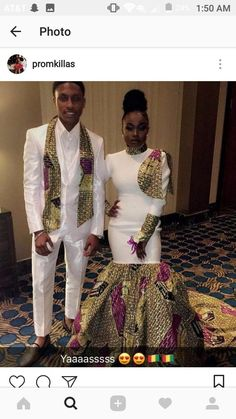 african fashion outfits looks great ! African Wedding Attire, African Attire, African Wear, African Dress, African Prom Dresses, Prom Girl Dresses, African Fashion Dresses, Wedding Dresses, African Inspired Fashion