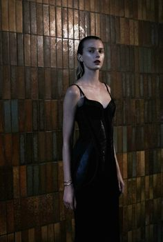 """Nuit Blanche""  Sigrid Agren by Yelena Yemchuk for Numero #139"